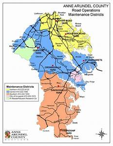 Roads in Anne Arundel County, Maryland