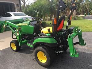 13 400  John Deere 1025r Tractor With Front End Loader I