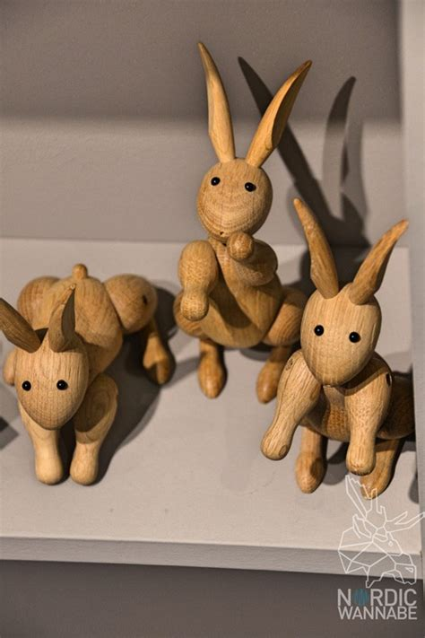 Bojesen Hase by Streichelzoo Aus Holz Bojesen Denmark