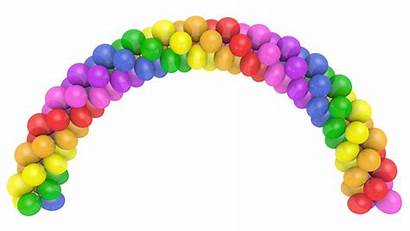 Balloon Arch Transparent Decorating Clip Background Arches