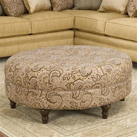 round ottomans for sale round traditional styled ottoman by smith brothers wolf