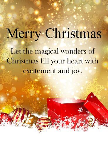 magical christmas card birthday greeting cards  davia