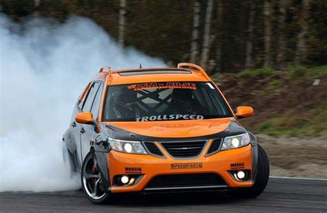Special Drift Saab 9-3 Rwd Is Up For Sale!