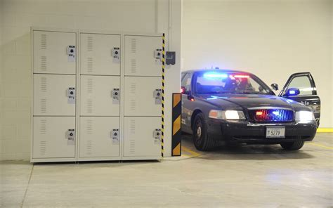 Police Tactical Gear Storage and More Creates Efficiency