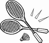 Tennis Drawing Racket Template Pages Coloring Racquet Sketch Getdrawings sketch template