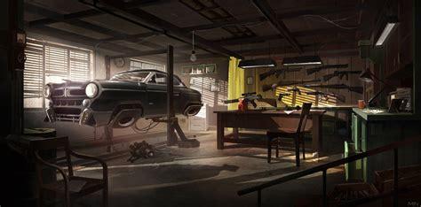 shades  black garage  min nguen  deviantart