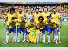 GALLERY ONLY Brazil x Germany World Cup 2014 Squad Goalcom
