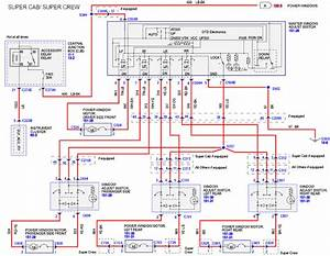 Power Window Motor Wiring Diagram