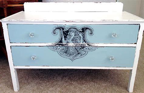 nautical colors diy furniture transfer mermaid dresser the graphics