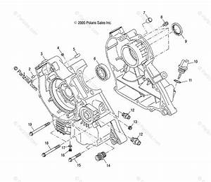 Polaris Atv 2003 Oem Parts Diagram For Crankcase