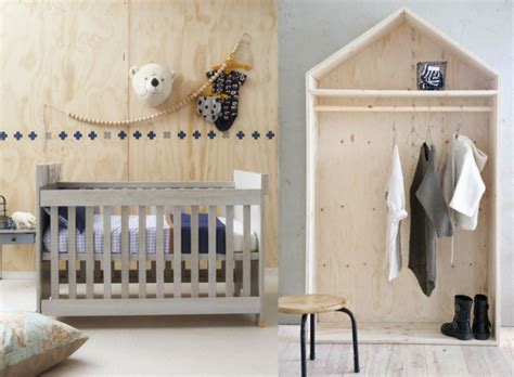 bureau nordique la déco en contreplaqué une idée originale et minimaliste