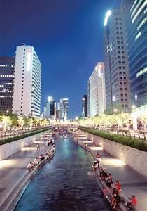 Centre Culturel Coréen : cheonggyecheon stream plaza an attractive space for ~ Melissatoandfro.com Idées de Décoration