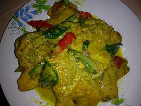 curry cuisine cooking pleasure green chicken curry ayam sambal hijau