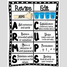 Revising And Editing Chart Arms & Cups From Chrissie Rissmiller On Teachersnotebookcom (3