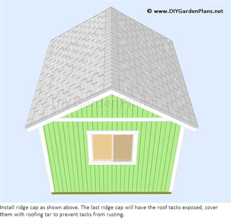 gambrel shed plans 8x8 guide sanglam