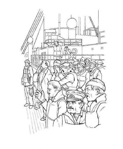 Titanic Kleurplaat by Titanic Coloring Pages 360coloringpages