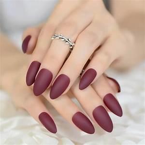 Colour Matte Pr... Fake Nails