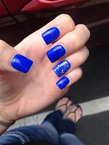 Royal Blue Acrylic Nails Tumblr | www.pixshark.com ...