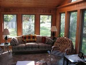 Great 4 Season Porch Idea For Your Patio