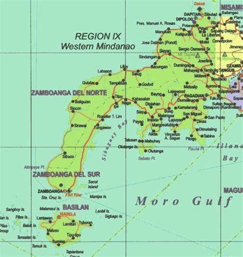 maps  zamboanga