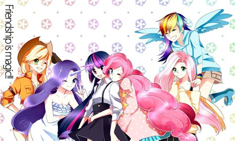 My Pony Anime Wallpaper - anime mlp wallpaper wallpapersafari