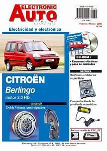 Manual De Taller Citroen Berlingo 2 0 Hdi  2002