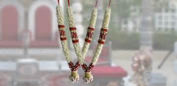 boutineer flowers wedding garlands jadai designs puberty garlands