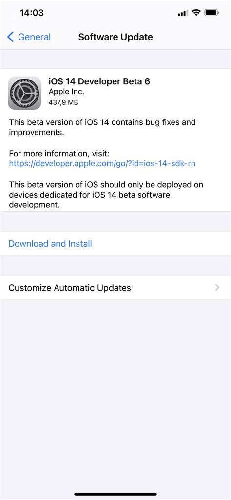 Apple releases iOS 14 beta 6 and iPadOS 14 beta 6 to ...