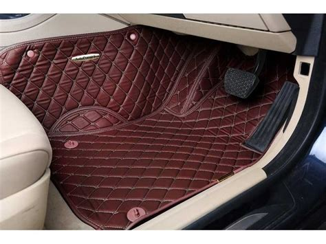 7d Luxury Custom Fitted Car Mats For Mahindra Xuv 500 Coffee