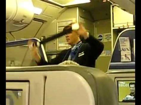 funny jetblue flight attendant youtube