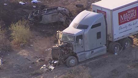truck accident     tonopah claims  life