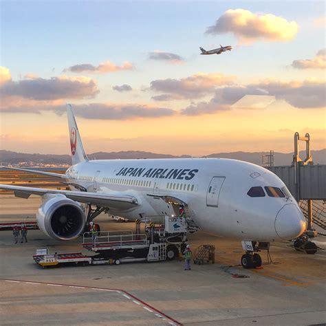 Jal Business Class Boeing 787 Osaka Kix To Los Angeles Lax