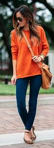 1000+ ideas about Orange Outfits on Pinterest | Outfits Capsule Wardrobe and Polyvore
