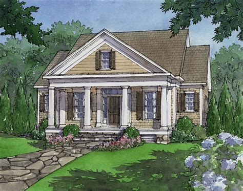 house plan dewy rose sl  southern living house