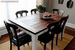 Farmhouse Table · How To Make A Table · Home + DIY on Cut