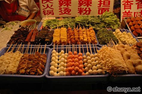 food china market street beijing chinese xcitefun markets meat foods around eat scary there bbq streetfood snakes users shunya apple