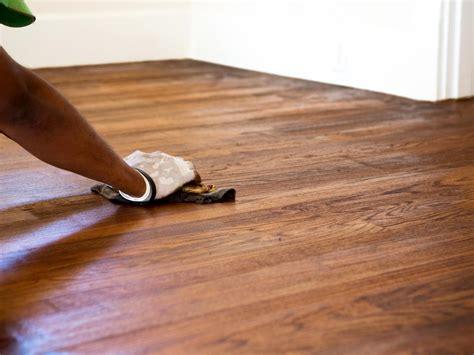 stain  hardwood floor  tos diy