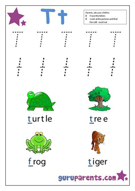 preschool letter worksheets guruparents