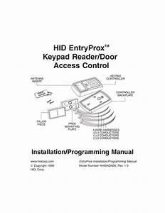 Hid Door Acces Control Wiring Diagram