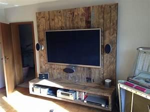Tv Panel Selber Bauen : tv wand selber bauen laminat ~ Lizthompson.info Haus und Dekorationen