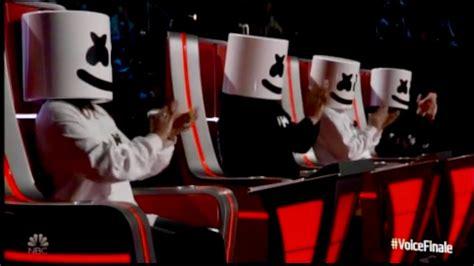 Marshmello & Bastille Perform 'happier' On The Voice