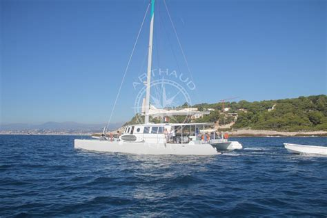 Catamaran Yacht Rental by A Maxi Catamaran Cruise In Monaco Yacht Rental Arthaud