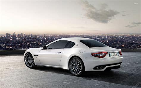 Maserati Backgrounds by Maserati Granturismo White Wallpapers Desktop Background