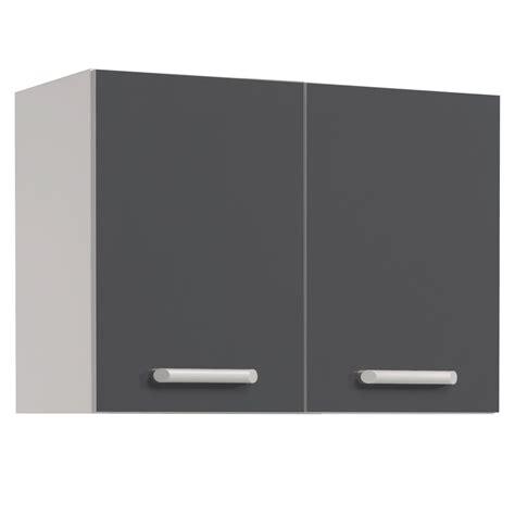 meubles de cuisine haut meuble haut de cuisine contemporain 2 portes 80 cm blanc