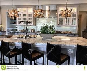 Belle Cuisine Moderne Photo Stock Image 70708072