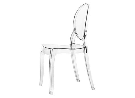chaise transparente fly chaise en plexiglass transparente wishlist