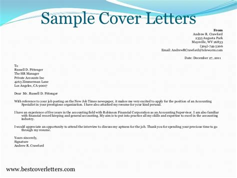 How To Email Resume To Hr by Sle Cover Letters