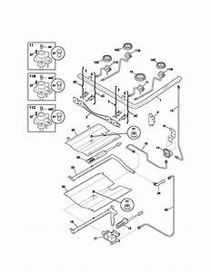 Kenmore 79075413300 Gas Range Parts