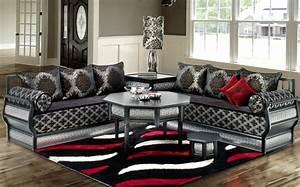 Style Deco Salon : d co marocaine design pour salon deco salon marocain ~ Zukunftsfamilie.com Idées de Décoration