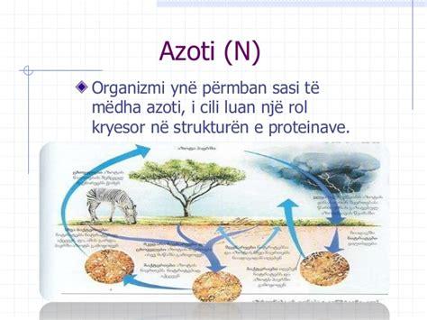 roli i elementeve kimike ne organizmin e njeriut